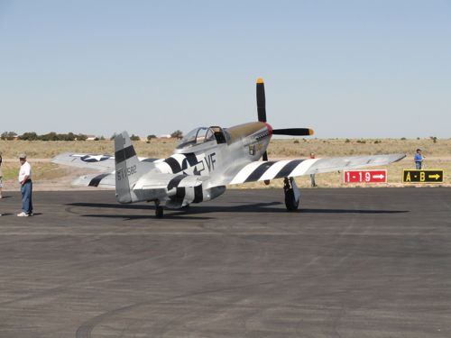 P-51 ready to sortie